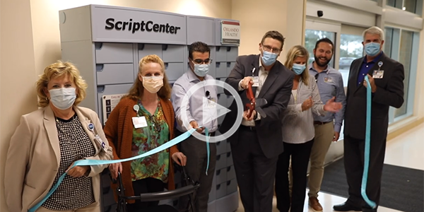 New Automated Pharmacy Locker is LIVE at Orlando Health: Video