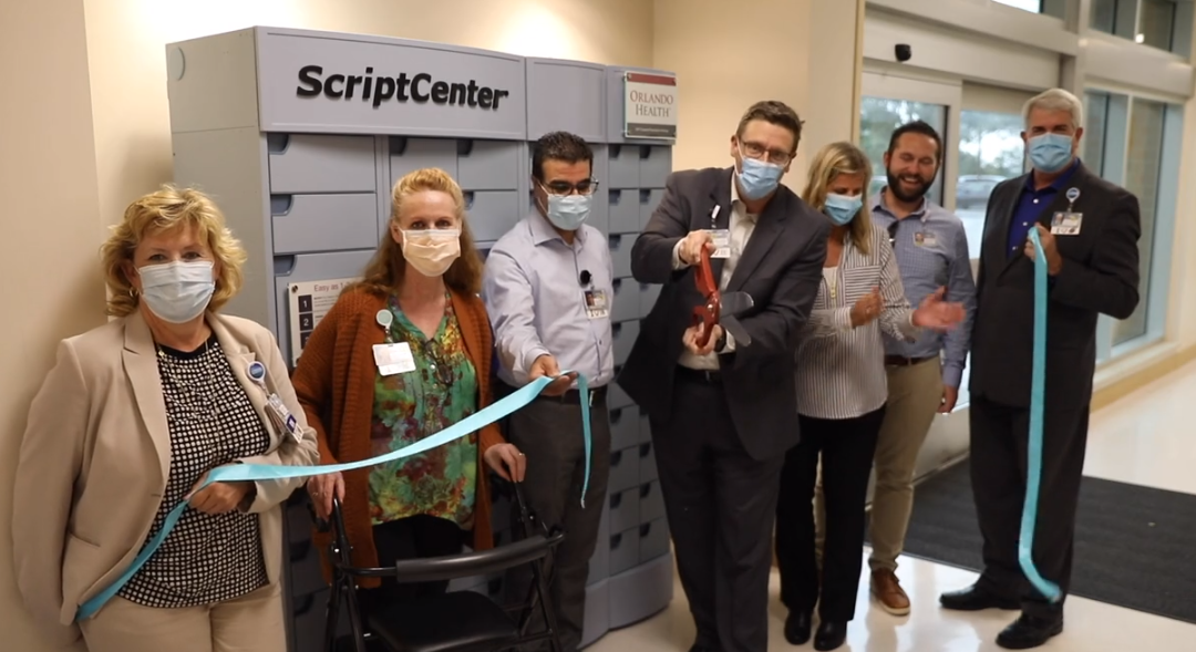 New Automated Pharmacy Locker is LIVE at Orlando Health