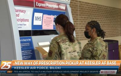 DoD Expands Pharmacy Access: New Prescription Pickup Kiosk