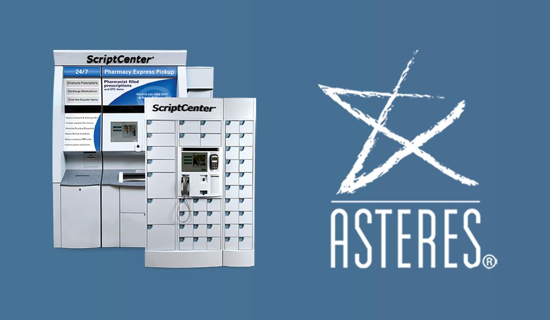 Asteres Announces 3 Million ScriptCenter Locker  Prescription Pickups in 31 States